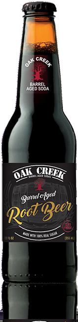 Oak Creek Barrel Aged Root Beer - Zero Proof