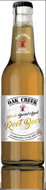 Oak Creek Barrel Aged Blonde Root Beer - Zero Proof